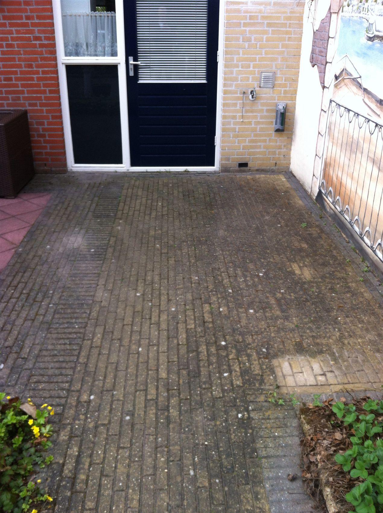 Terras laten schoonmaken Meppel, Hoogeveen, Emmen, Coevorden