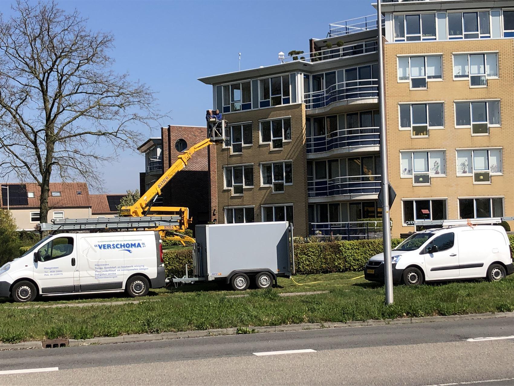 Reinigen met Hoge Druk Unit - Verschoma Hoogeveen